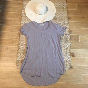 Periwinkle shirt dress